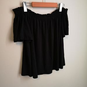 Wilfred black off the shoulder top